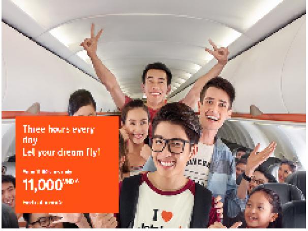 Hàng ngàn vé Tết giá chỉ 11.000 đồng từ Jetstar