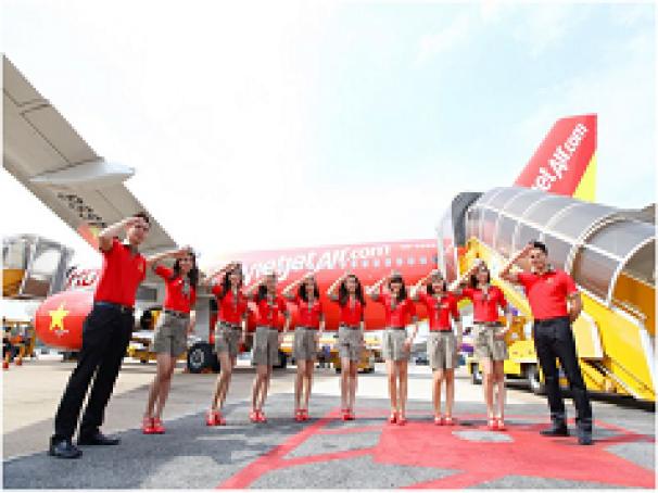 Vietjet mở bán vé đường bay mới Tp.HCM - Phnom Penh giá chỉ 199.000đ